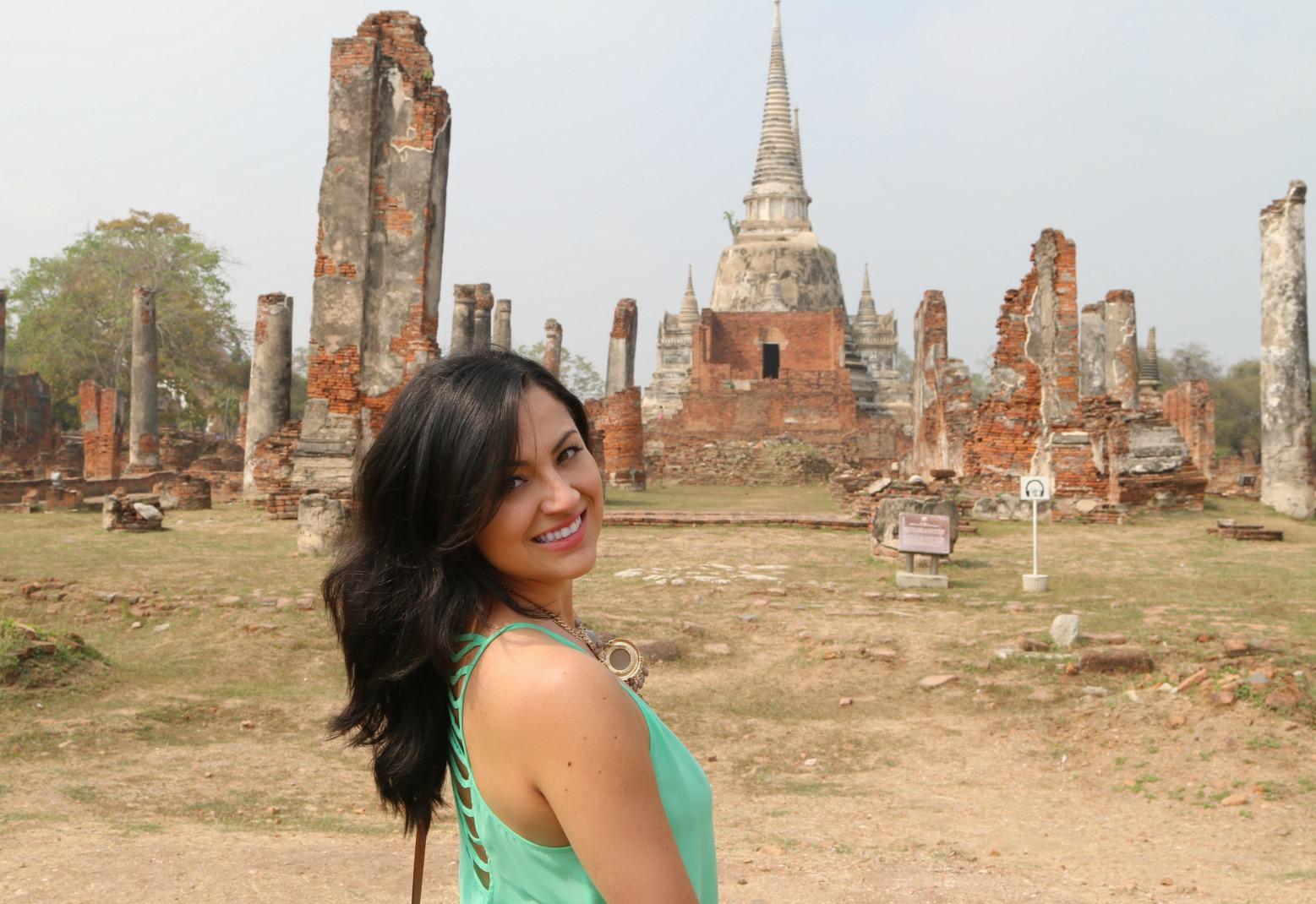 Ayutthaya, Thailand by @StephBeTravel @TravelBreak