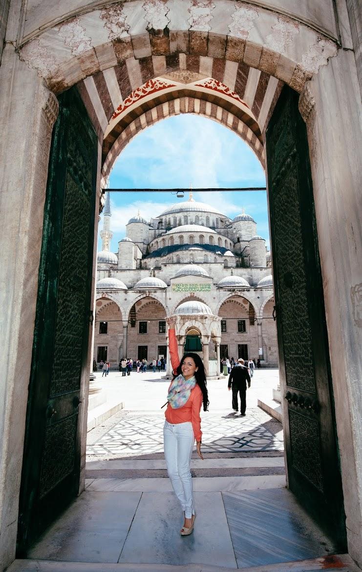 Blue Mosque, Istanbul, Turkey @StephBeTravel, @TravelBreak by @LaurieSatran